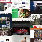 نمونه های طراحی سایت با وردپرس